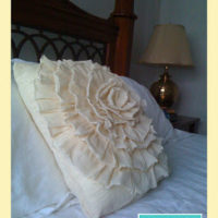 Flower Pillow – First Attempt