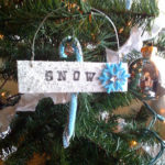 Neighbor Gifts – Paint Stick Ornaments