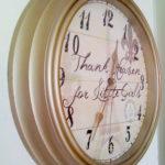 Girls' Room – Project 3 – Shabby Chic Parisian Clock (AND Freebie!)