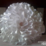 Wedding Dress/Daddy Shirt turned Flower Pillows