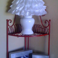 Ruffled Lamp