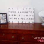 DIY I Love Your Laughter Sign