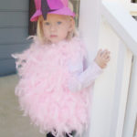 Glamorous Flamingo Halloween Costume – Free Printable