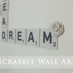 Kids' Room Giant Scrabble Wall