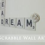 Kids' Room Giant Scrabble Wall