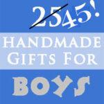 Day 9 – Handmade Christmas Gifts for Boys