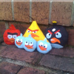 Angry Birds Small Bean Bags – Free Printables