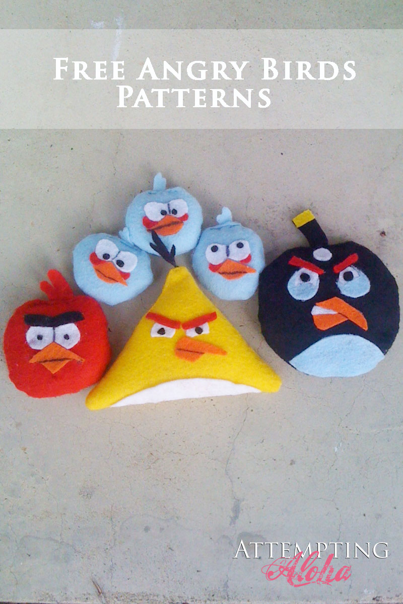 Free Angry Birds Pattern and Printable
