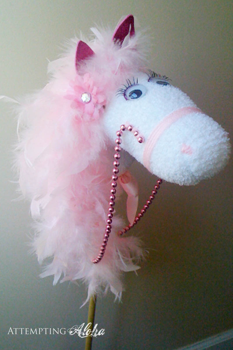 DIY Hobby horse for girls