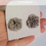 Last-minute Gift Idea – Simple Flower Earrings Tutorial