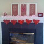 My Valentine's Mantel