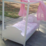 How to Make a Toddler Canopy Bed — Tutorial