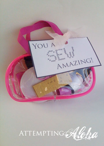 Sewing Kit Gift