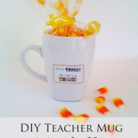 Halloween Teacher Mug Gift