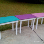 DIY Girls' Room Desks