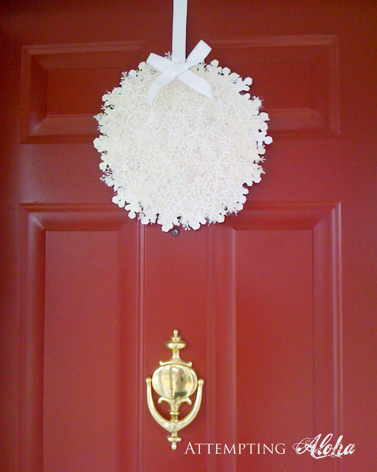 DIY Door Ornament tutorial