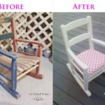 How to makeover a kids rocking chair