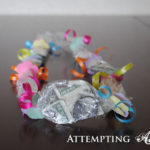 Candy and Origami Money Lei