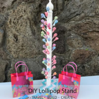 DIY Lollipop / Sucker Stand