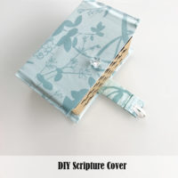 DIY Scripture Cover Tutorial
