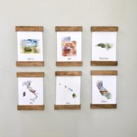 """DIY """"Magnetic"""" Frames"""