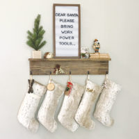 DIY Stocking Shelf – Beginner Woodworking Project